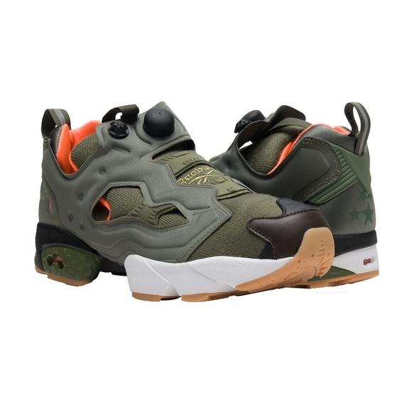 wholesale dealer aad86 57f30 New Reebok InstaPump Fury OG Green sneakers